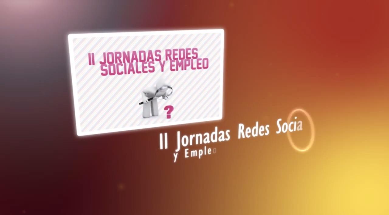 Promo II Jornadas Redes Sociales y Empleo 2010