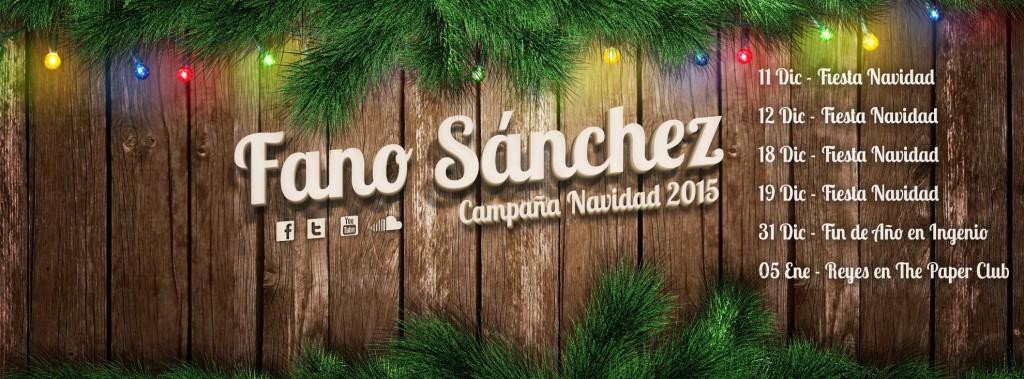 Facebook Fano Sanchez Campana Navidad 2015