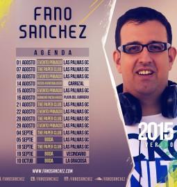 Fano Sanchez Agenda Eventos 2015 Instagram