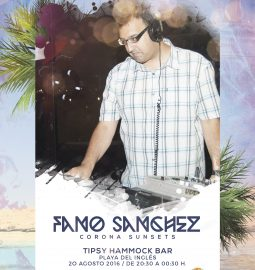Cartel-Fano-Sanchez---Corona-Sunsets-Playa-del-Ingles-20-Agosto-2016-web