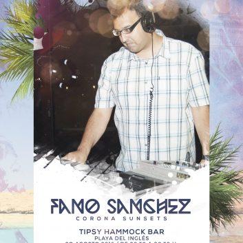 Cartel-Fano-Sanchez---Corona-Sunsets-Playa-del-Ingles-20-Agosto-2016-web