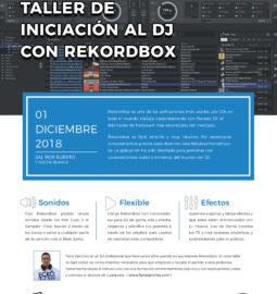 Cartel-Taller-de-Iniciación-al-DJ-con-Rekordbox-Puerto-del-Rosario-Diciembre-2019-web