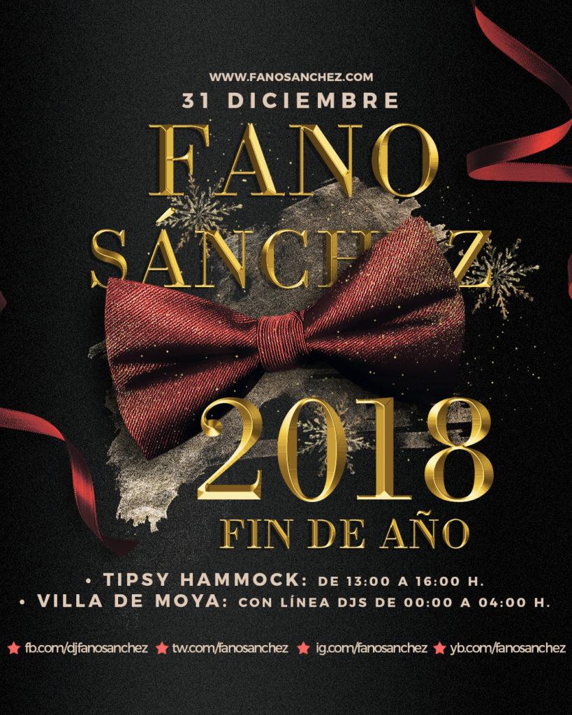 Instagram Fano Sánchez Fin de Año Moya Diciembre 2018