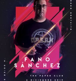 Cartel-Fano-Sánchez-The-Paper-Club-6-Diciembre-2019-web
