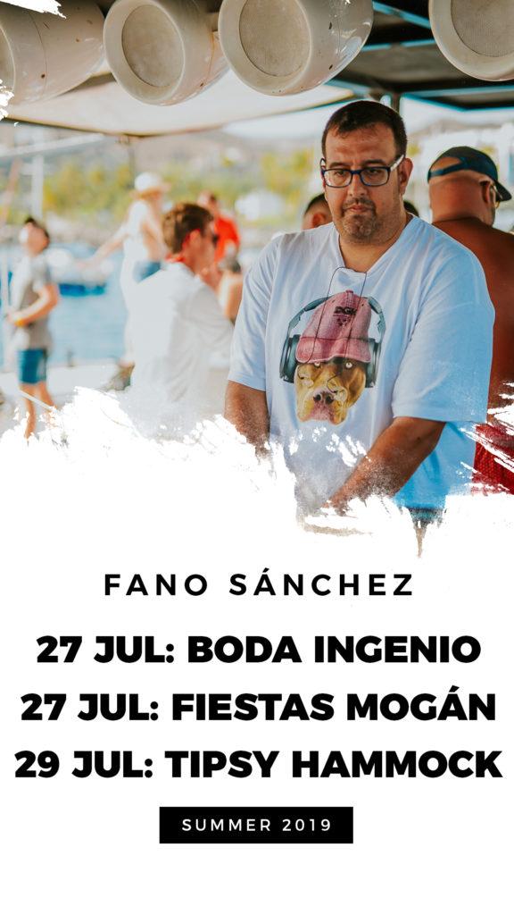 Instagram Fano Sánchez Julio 2019